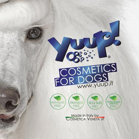Yuup linea cosmetici per animali di Cosmetica Veneta